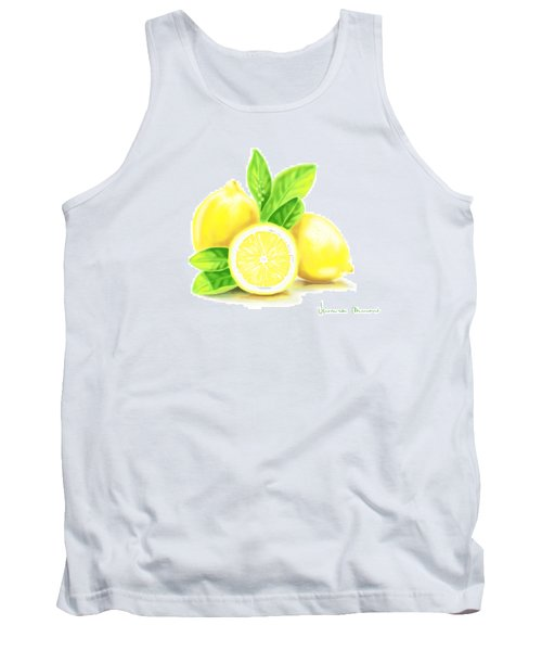 Lemons Tank Top by Veronica Minozzi