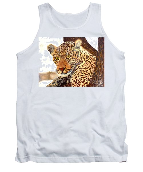 Leopard Point Of View Tank Top