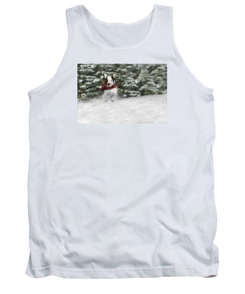 Snow Day Tank Top by Shelley Neff