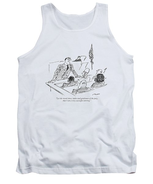 Let The Record Show Tank Top