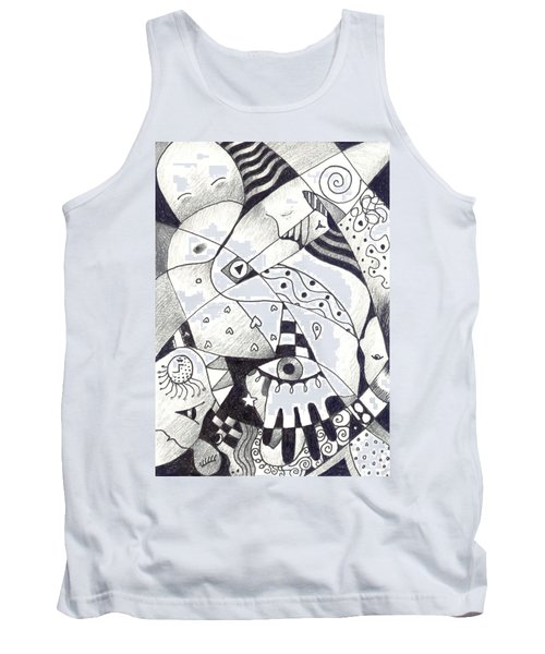 Let Us Dance Tank Top by Helena Tiainen