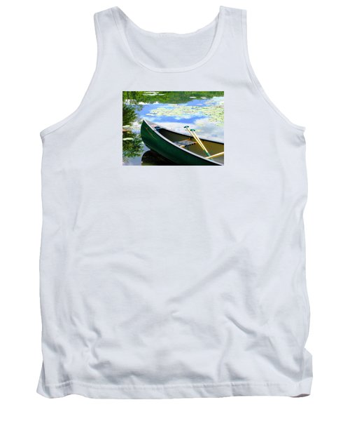 Let's Go Out In The Old Town Tank Top by Angela Davies