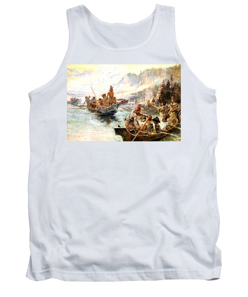 Lewis And Clark On The Lower Columbia  Tank Top