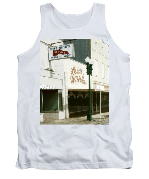 Lewis And Williams Tank Top