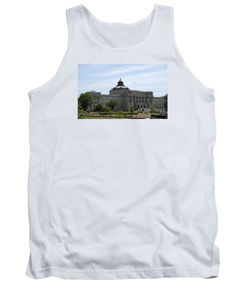 Library Of Congress  Tank Top by Christiane Schulze Art And Photography