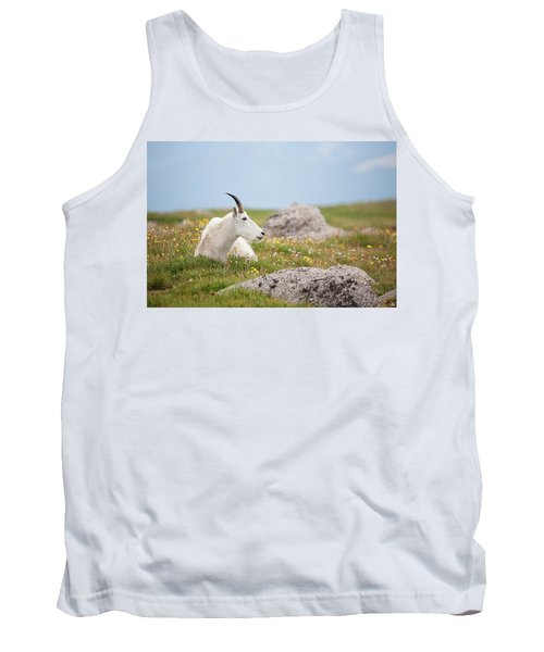 Lie Down In Green Pastures Tank Top