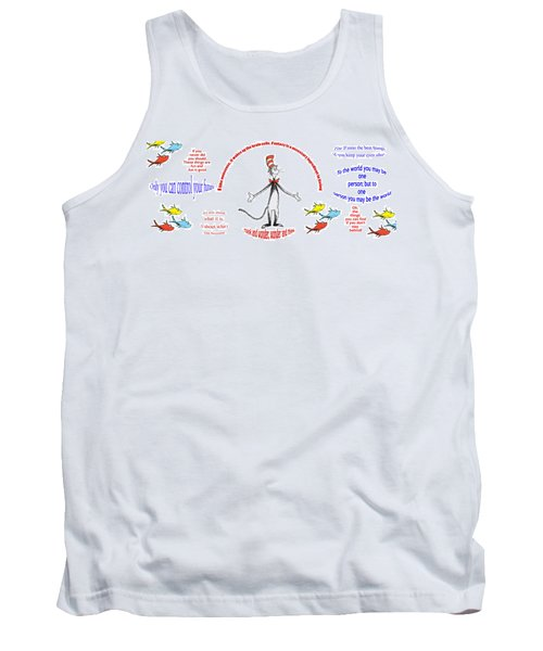 Life Words - Dr Seuss Tank Top