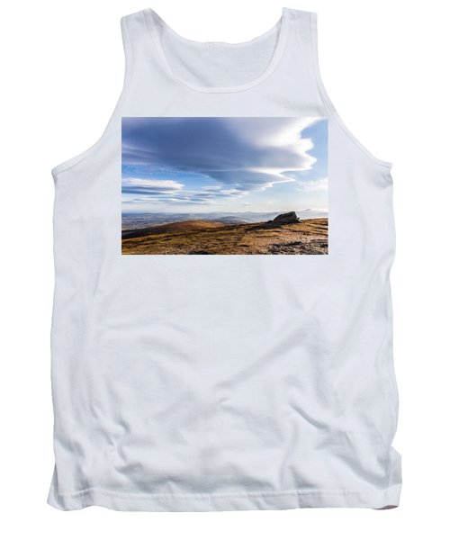Lightfall On Djouce Mountain Summit Tank Top