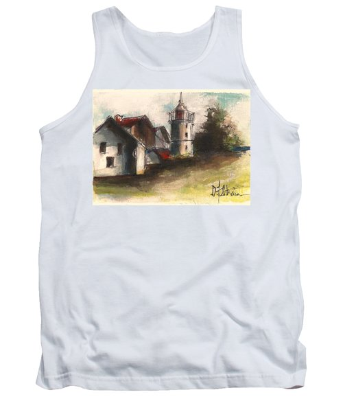 Lighthouse By Day Tank Top
