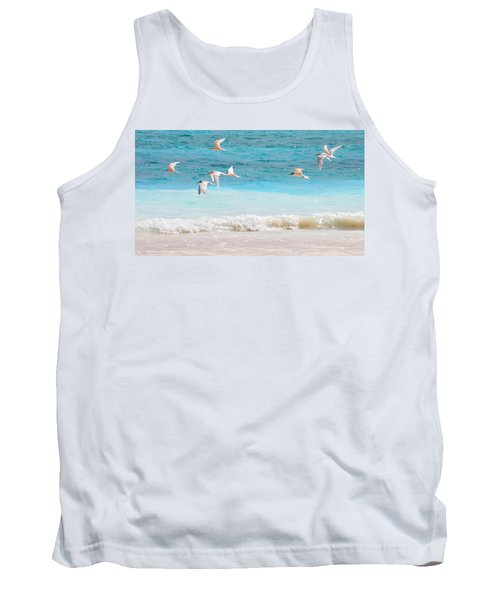 Like Birds In The Air Tank Top