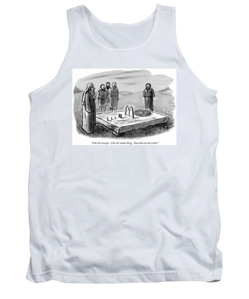 Like The Concept.  Like The Whole Thing.  But Tank Top