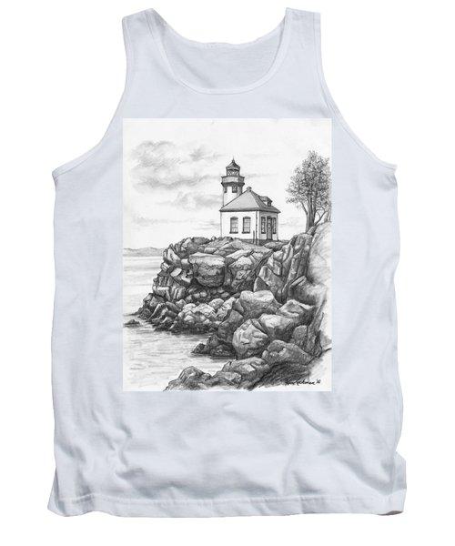 Lime Kiln Lighthouse Tank Top