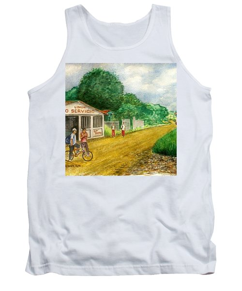 Limon Costa Rica Tank Top by Frank Hunter