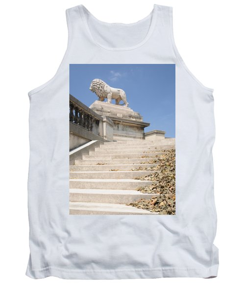 Lion Tuileries Garden Paris Tank Top