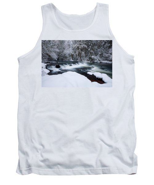 Little Fall Creek Winter Tank Top