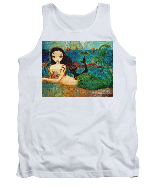 Little Mermaid Tank Top by Shijun Munns