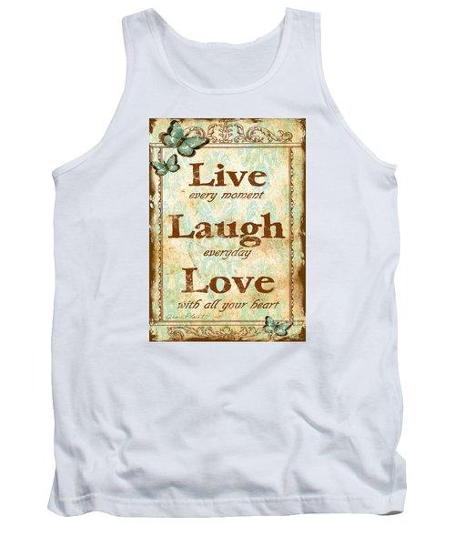 Live-laugh-love Tank Top