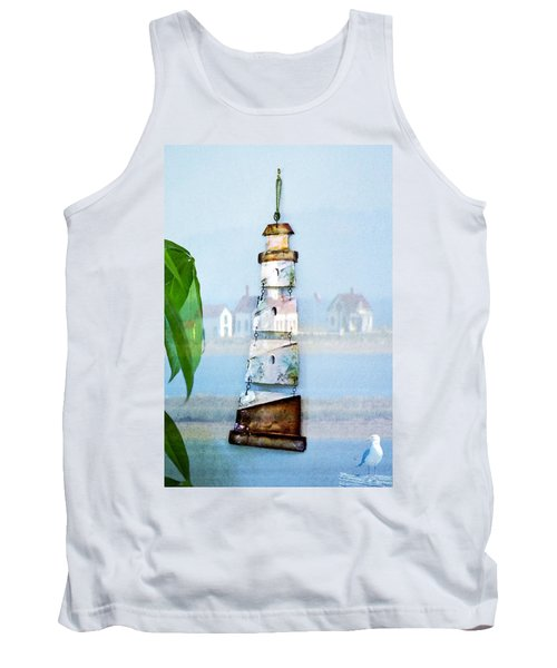 Living By The Sea - Pacific Ocean Tank Top
