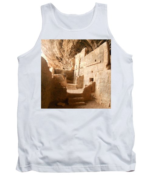Tank Top featuring the photograph Living In The Rocks by Kerri Mortenson