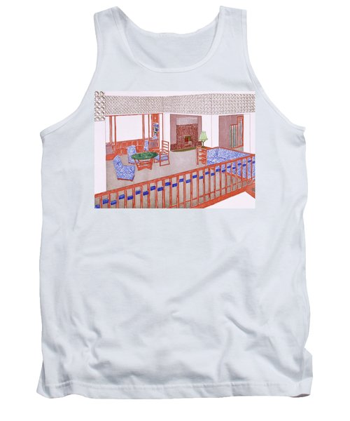 Living Room, Early 1900s Tank Top