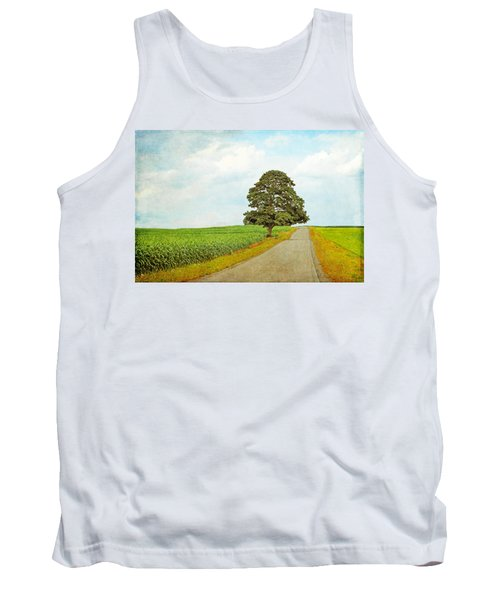 Tank Top featuring the photograph Lone Tree by Brooke T Ryan