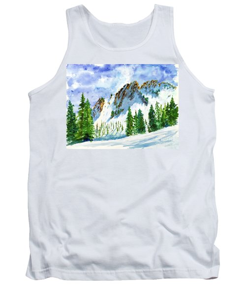 Lone Tree In The Afternoon Tank Top