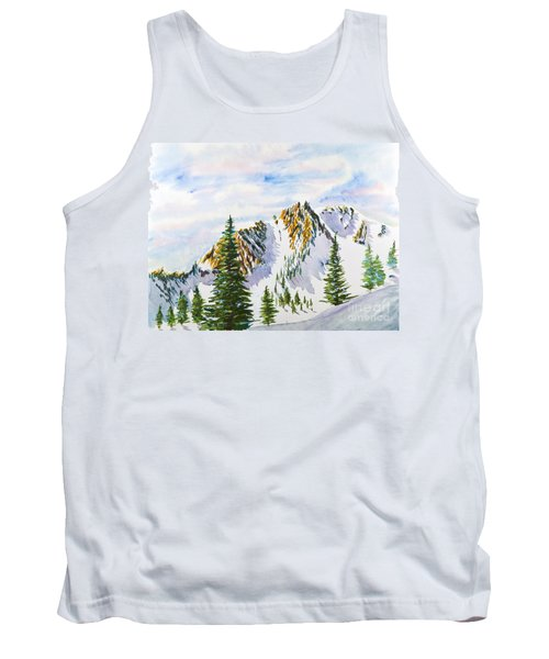Lone Tree In The Morning Tank Top