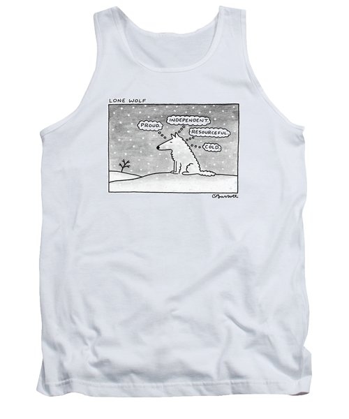 Lone Wolf: Tank Top