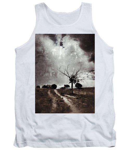 Lonely Tree Tank Top by Mark David Gerson
