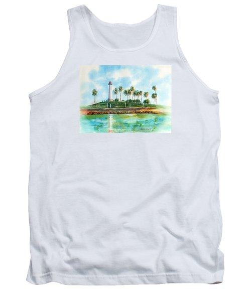 Long Beach Lighthouse  Version 2 Tank Top