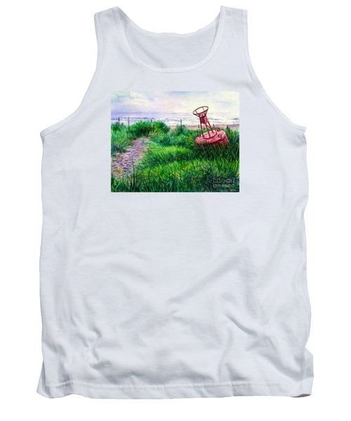 Long Beached Buoy Tank Top