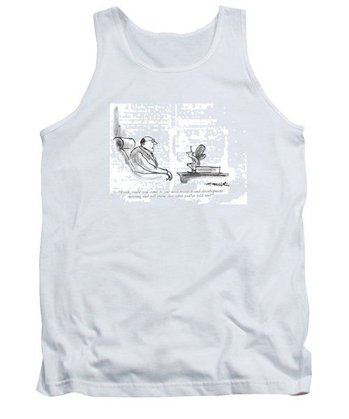 Look, Could You Come To Our Next Tank Top