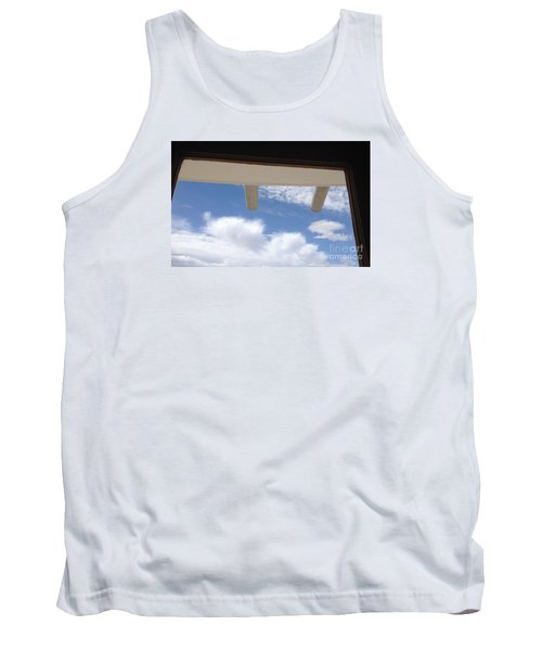 Tank Top featuring the photograph Lookout by Nora Boghossian