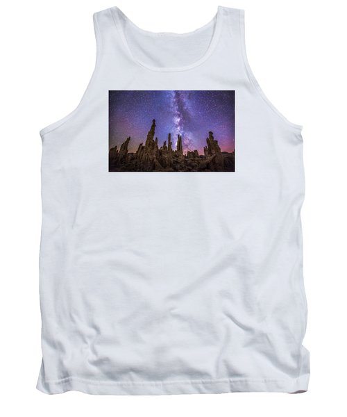 Lost Planet Tank Top by Tassanee Angiolillo