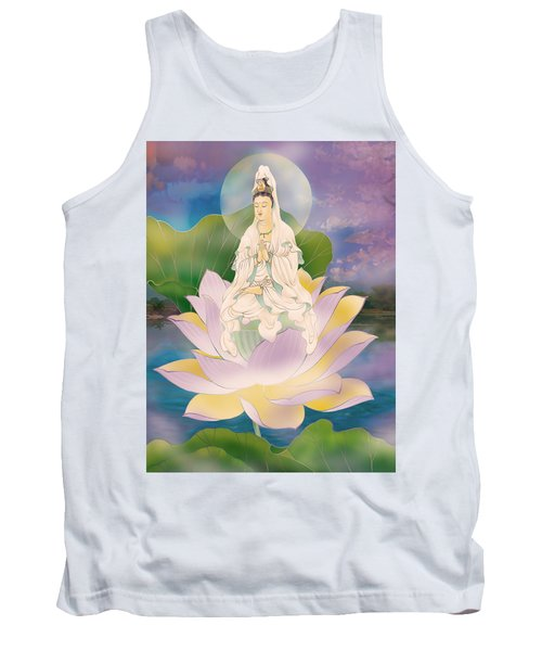 Lotus-sitting Avalokitesvara  Tank Top