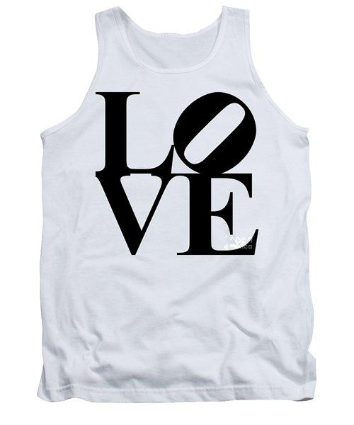 Love 20130707 Black White Tank Top