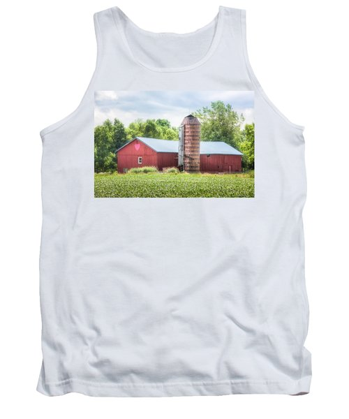 Tank Top featuring the photograph Love Barn by Gary Heller