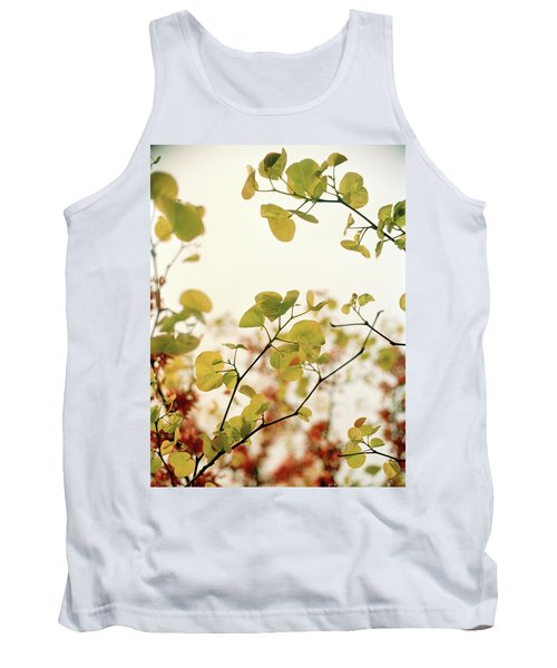 Tank Top featuring the photograph Love Leaf by Rebecca Harman