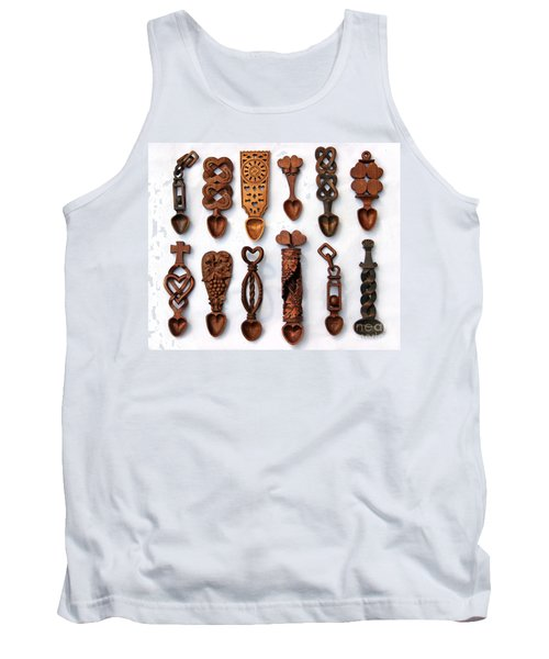 Love Spoons Tank Top