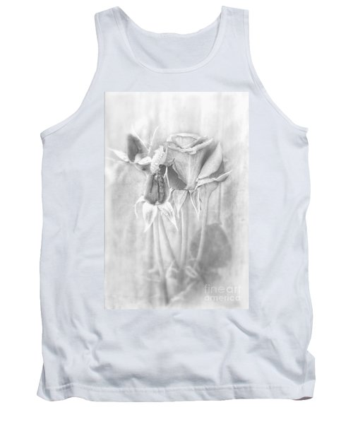 Tank Top featuring the photograph Loveliness by Peggy Hughes