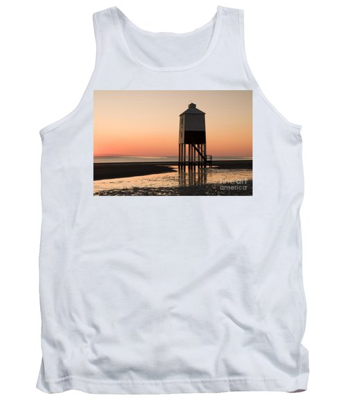 Low Lighthouse Sunset Tank Top
