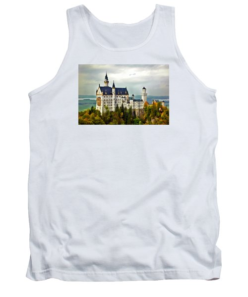 Neuschwanstein Castle In Bavaria Germany Tank Top