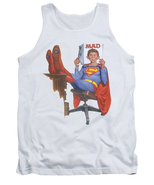 Mad - Super Read Tank Top