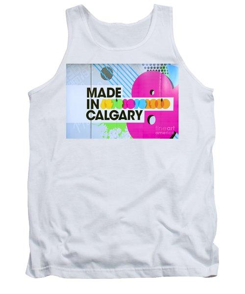Made In Calgary Tank Top