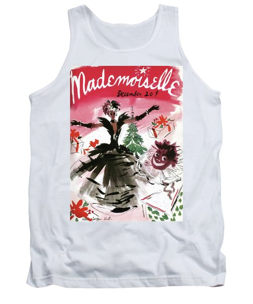 Mademoiselle Cover Featuring A Doll Surrounded Tank Top