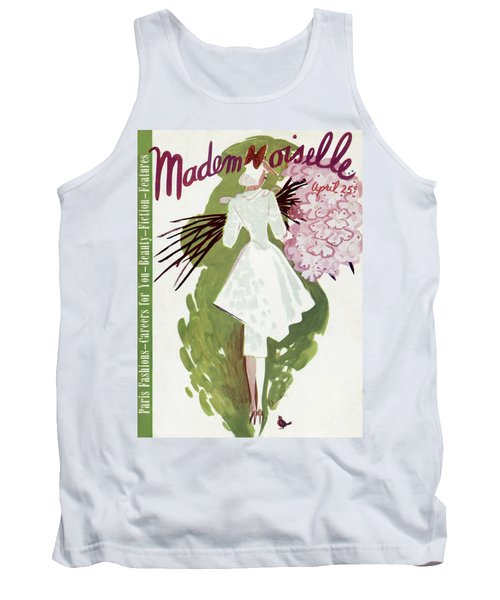 Mademoiselle Cover Featuring A Woman Carrying Tank Top