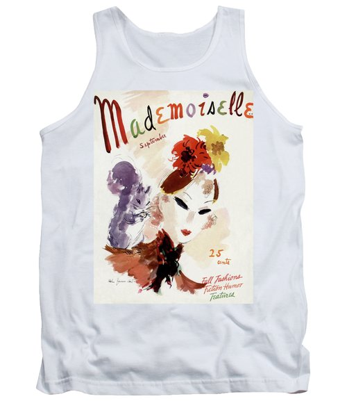 Mademoiselle Cover Featuring A Woman Tank Top