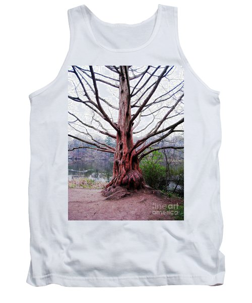 Tank Top featuring the photograph Magic Tree by Nina Silver