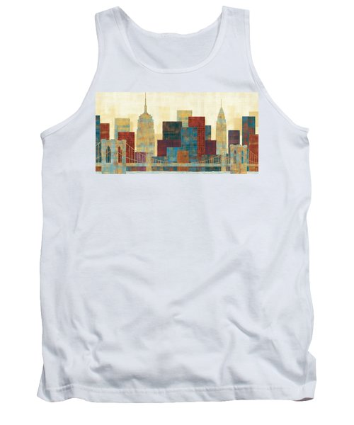Majestic City Tank Top by Michael Mullan