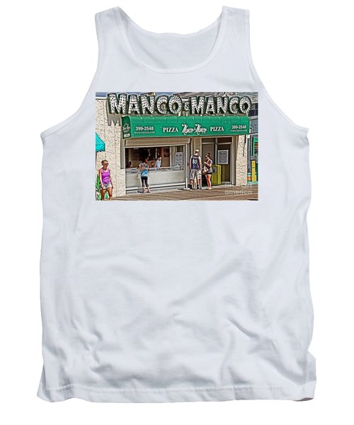 Manco And Manco Pizza Tank Top